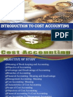 Ch-1 Introduction to Cost Accounting