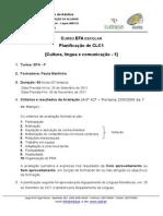 EFA Planificação CLC1