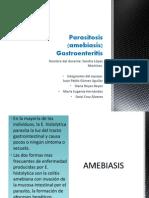Parasitosis (amebiasis)