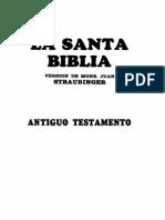 Biblia Straubinger - Antiguo Testamento