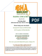 Barn Hunt Training May 18th - Arlington