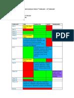 Refined Schedule