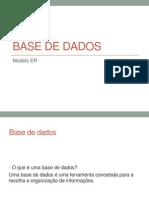 Base de Dados