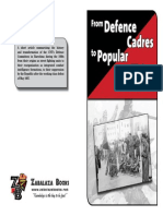 From Defence Cadres to Popular Militias -Agustin Guillamon