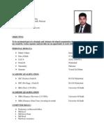 Ali Khan cv 1