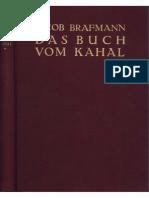Brafmann, Jacob - Das Buch vom Kahal - Band 1 (1928)