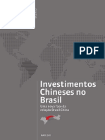 Pesquisa Investimentos Chineses No Brasil