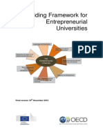 EC-OECD Entrepreneurial Universities Framework
