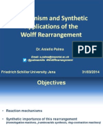 Wolff Rearrangement