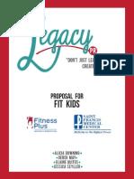 Fit Kids Proposal - MC434 Senior Capstone Project