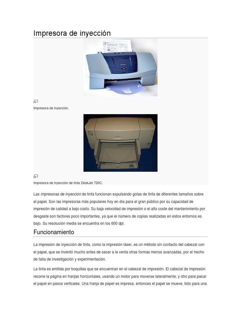 Único Color Láser Frente A Costo De Inyección De Tinta Por Página ...