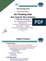 6 Thinking Hats Handout