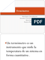 Presentación Termometros