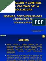 5. EVALUACIÓN Y CONTROL DE LA  CALIDAD DE LA SOLDADURA