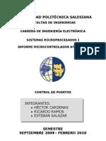 Informe de AVR 1