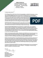Jill Bouslog Letter of Recommendation