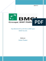 Rapport de Stage BMCI Maroc 111