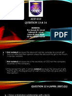 Audit 610 Presentation