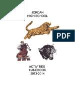 2013  jhs activities handbook