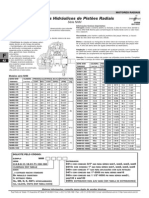 Motores Hidraulicos de Pistoes Radiais Serie NHM