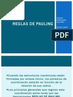 Reglas de Pauling
