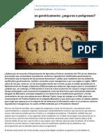 80grados.net-Alimentos Modificados Genticamente Seguros o Peligrosos