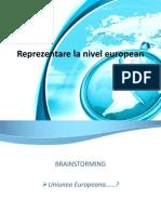 Reprezentarea La Nivel European