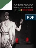 Politica Publica Mujer Equidad Genero Santander