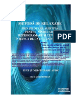Handbook Manual de Relaxare Pilotata Auditiv