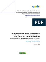 Sistema de Gestao Conteudo Cms