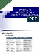 Unidad 4 Protocolos y Direccionamiento Ip