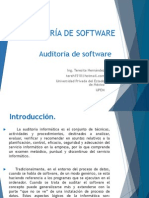 Auditoria de Calidad Software