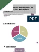 Los Profesionales Intervinientes, El Menor y Su Familia. Alternativas Vinculares