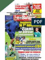 LE BUTEUR PDF du 24/10/2009