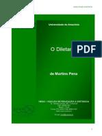 O Diletante, De Martins Pena