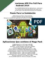 Listado Pack De Aplicaciones APK Pro Full Para Android 2014.docx