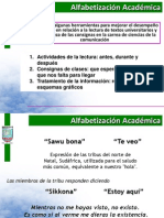 Clase Alfabetizacion Academica