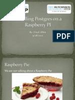 2012-10-02_Installing Postgres on Raspberry PI