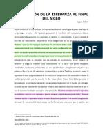 AgnesHeller,Lasituaciondelaesperanzaalfinaldelsiglo(obligatoria)