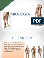 Miologia y Piel