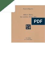 Albert Kahn, Les Jardins d'une idée - Pascal de Blignières - liseuse Lekti