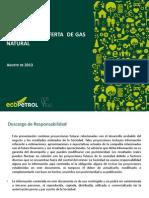 Perspectivas GN 2013 Ecopetrol