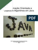 Programação Orientada a Objetos e Algoritmos em Java