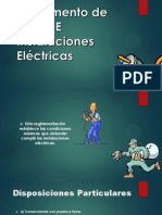 Reglamento de Obras E Instalaciones Eléctricas