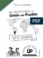 Programa de la  Union Del Pueblo