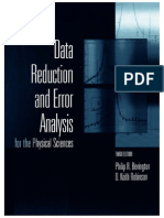 Data Reduction and Error Analysis for Physical Sciences