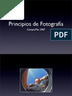 Principios de Fotografía