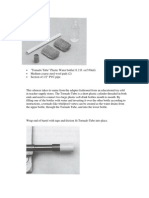 (I) Silenciador de PVC