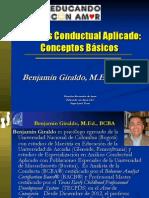 Aba Analisis Conductual Aplicado - Conceptos Basicos