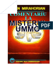 Comentariu la Misterul Ummo de Mirahorian